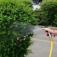Water Spray Hose Gun Metal Sprayer Nozzles Garden Lawn Water Sprayer