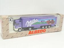 Albedo 1/87 HO - MAN Remorque Milka