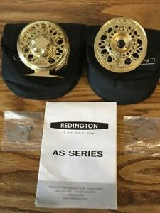 Redington AS 3-4 Series Fly Fishing Reel with Extra Spool - Gold
