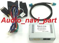 Mercedes-Benz All NTG4.5/4.7 audio20/comand uniserval backup camera interface
