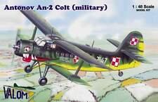 Valom 1/48 Model Kit 48001 Antonov An-2 'Colt' (Military)