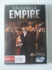 BOARDWALK EMPIRE DVD - Complete Season 2 - GC - Steve Buscemi