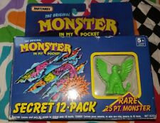 MONSTER IN MY POCKET - neon green griffen box - only one monster
