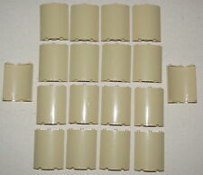 LEGO LOT OF 18 NEW TAN CURVED WALLS 4 X 4 X 6 QUARTER CYLINDER WALL PIECES