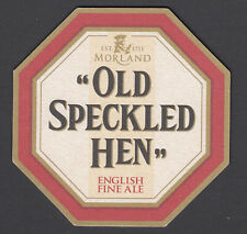 """1 x """"OLD SPECKLED HEN"""" ENGLISH FINE ALE. BEER COASTER, NEW"""