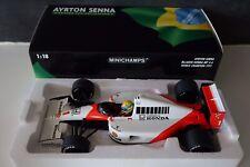 1 18 Minichamps McLaren Honda Mp4/6 World Champion Senna 1991