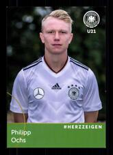 Philipp Ochs  DFB Autogrammkarte U 21 2018 +A 181602