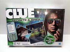 Clue Secrets And Spies Board Game Complete Sealed