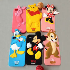 Kids Phone 3D Case Rubber Silicone For Samsung Galaxy S3 S4 S5 Mini DISNEY Cover