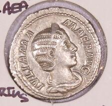 Roman Empire AD 222 Denarius Julia Mamaea Mother of Severus Alexander 97-20