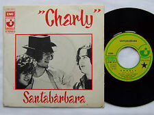 "SANTABARBARA Charly / San Jose FRENCH 7"" 45 w/PS HARVEST (1973) EX/EX+"