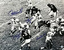 POWER SWEEP 16x20 SIGNED Photo of Paul Hornung Kramer Thurston Dowler - Packers