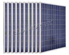 1KW 10x100Watt Poly Solar Panel  Panneau Solaire for 12V Battery RV Boat Charge