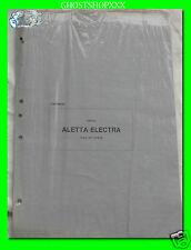 CAGIVA aggiornamento e varianti catalogo ricambi Aletta electra