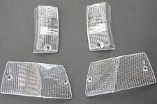 VESPA 4x BLINKER Gläser Weiß PX Rahmen 80 125 150 200 E Millenium Lusso T5 Glas