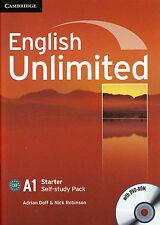 Cambridge ENGLISH UNLIMITED STARTER SELF-STUDY PACK: Workbook + DVD-ROM @NEW@