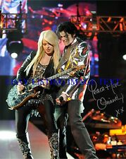 ORIANTHI PANAGARIS SIGNED AUTOGRAPH 8X10 RP PHOTO THIS IS IT W MICHAEL JACKSON
