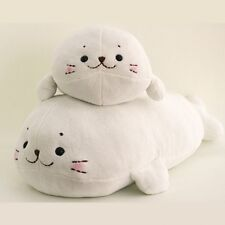 Washable ! Japanese Soft Plush doll Pillow SIROTAN M&L 55, 85cm Harp seal