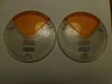 Lamborghini Diablo Hella 6.0 Rear Turn Signal lense (Amber and Clear)
