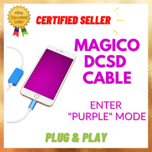 MAGICO DCSD CABLE Purple mode iCloud iPad iPhone Read Write Nand Serial Number