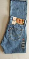 LEVI STRAUSS Men 501 Original Straight 100% Cotton Denim Jean - 30x32 Blue NEW