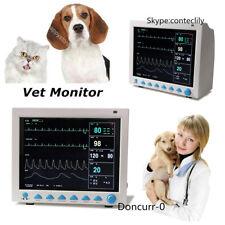 Vet Veterinary Use Icu Patient Monitor 6 Parameters Vital Signs Monitor Hospital
