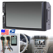 "12V Auto Car 7"" HD Touch Screen Bluetooth MP3/MP5 Player with Rear View Camera"