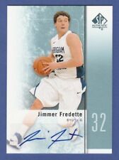 2011-12 SP AUTHENTIC JIMMER FREDETTE ROOKIE AUTO CARD ! !!