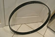 "NEEDS REPAIR! LUDWIG USA 24"" BLACK BASS DRUM HOOP for YOUR SET! LOT #M252"