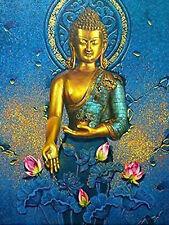 Buddha Lotus Flower Diamond Painting Full drill Cross Stitch Embroidery /3820