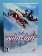 PC Snowmobile Simulator Game Whiteout Small Box Version Brand New