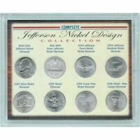 NEW American Coin Treasures Complete Jefferson Nickel Design Collection 7048