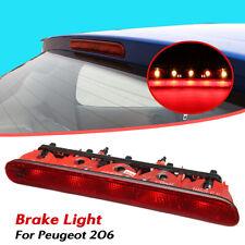 LED Luz Trasera Freno Auxiliar 3rd tercera lámpara de parada de Montaje Alto Para Peugeot 206