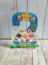 Baby shark birthday party supplies,  Baby shark party decorations,Baby shark