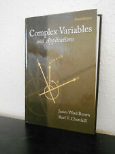 Complex Variables and Applications, 9th ed. Brown & Churchill ISBN 9780073383170