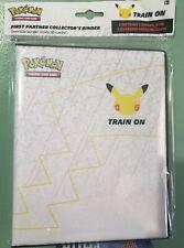 Pokemon: 25th Anniversary Pikachu First Partner Collector's Binder Tcg*