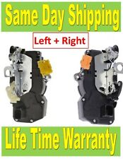 Pair of Rear Left + Rear Right Power Door Lock Actuator Escalade Tahoe Yukon