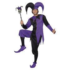 Medieval Jester Costume Halloween Fancy Dress