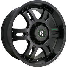 18x9 Trophy by Remington Wheels 6x135 Satin Black Rim Wheel +25mm 6 Lug Ford