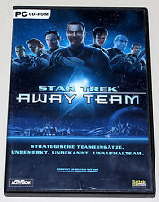 Star TREK AWAY TEAM-SQUADRA strategica INSERTI-PC gioco con manuale