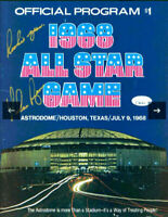 "Nolan Ryan SIGNED All-Star Game Program 1968 ""Rookie Year"" Mets Astros (JSA COA)"