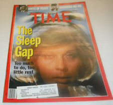 Time Magazine The Sleep Gap Madonna No No December 1990 041615R