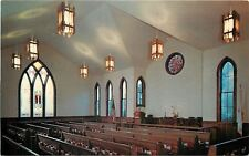 Coupeville WA~Sanctuary United Methodist Church~Stained Glass Windows 1950s