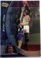 1998 98-99 Upper Deck Ionix Michael Jordan #6, Chicago Bulls, The Goat