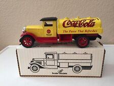 ERTL 1931 COCA COLA TANKER TRUCK BANK- DIE CAST-MFG.1992 - GB 4075- ORIGINAL BOX