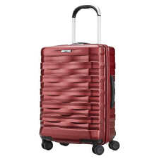 """Hartmann Excelsior Ruby Red Carry-on Spinner Suitcase Luggage Polycarbonate 22"""""""