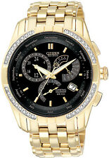 Citizen BL8042-54E Mens Watch Gold Tone 8700 Calibre Perpetual Calendar Diamonds