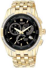 Citizen BL8042-54E Mens Watch Gold Tone 8700 Calibre Perpetual Calendar Diamonds