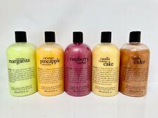Philosophy Shampoo, Shower Gel & Bubble Bath 16 oz. Scents Collection New