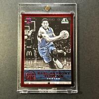 KARL ANTHONY TOWNS 2015 PANINI REPLAY #51 RED FOIL ROOKIE RC #'D /49 T-WOLVES